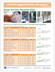 Digital Window Graphics UV Technical Bulletin