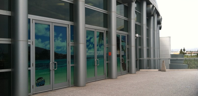 Anaheim Convention Center Window Graphic