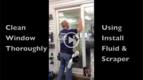 Digital Window Graphics Installation Video