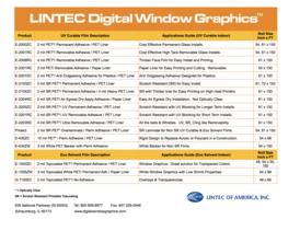 Digital Window Graphics 2019 Guide